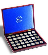 Cofanetto Volterra  UNO per 35 monete da 2 euro con 35 capsule- ditta Leuchtturm