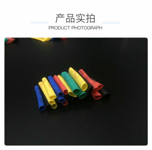 560*Polyolefin Heat Shrink Tubing 2:1 Electrical Wire Tube Insulation Cable Wrap