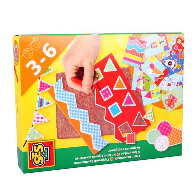 Ich lerne prickeln Lernspiel SES 14836