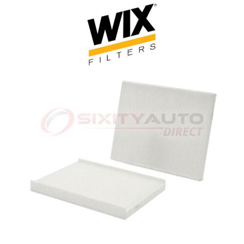 WIX Cabin Air Filter for 2011-2017 Ford Fiesta 1.0L 1.6L L3 L4 Filtration rq