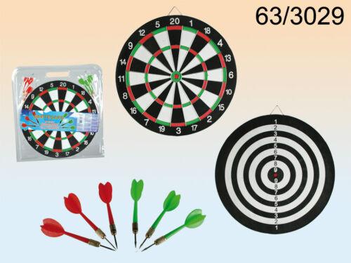 Ideal Gift Present Dartboard Bullseye Dart Board With 6 Darts