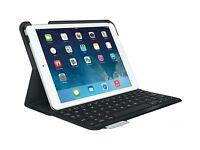 Logitech Standard Tastatur Folio für iPad Luft kompatibel iPad Pro 9.7 Blau/rot