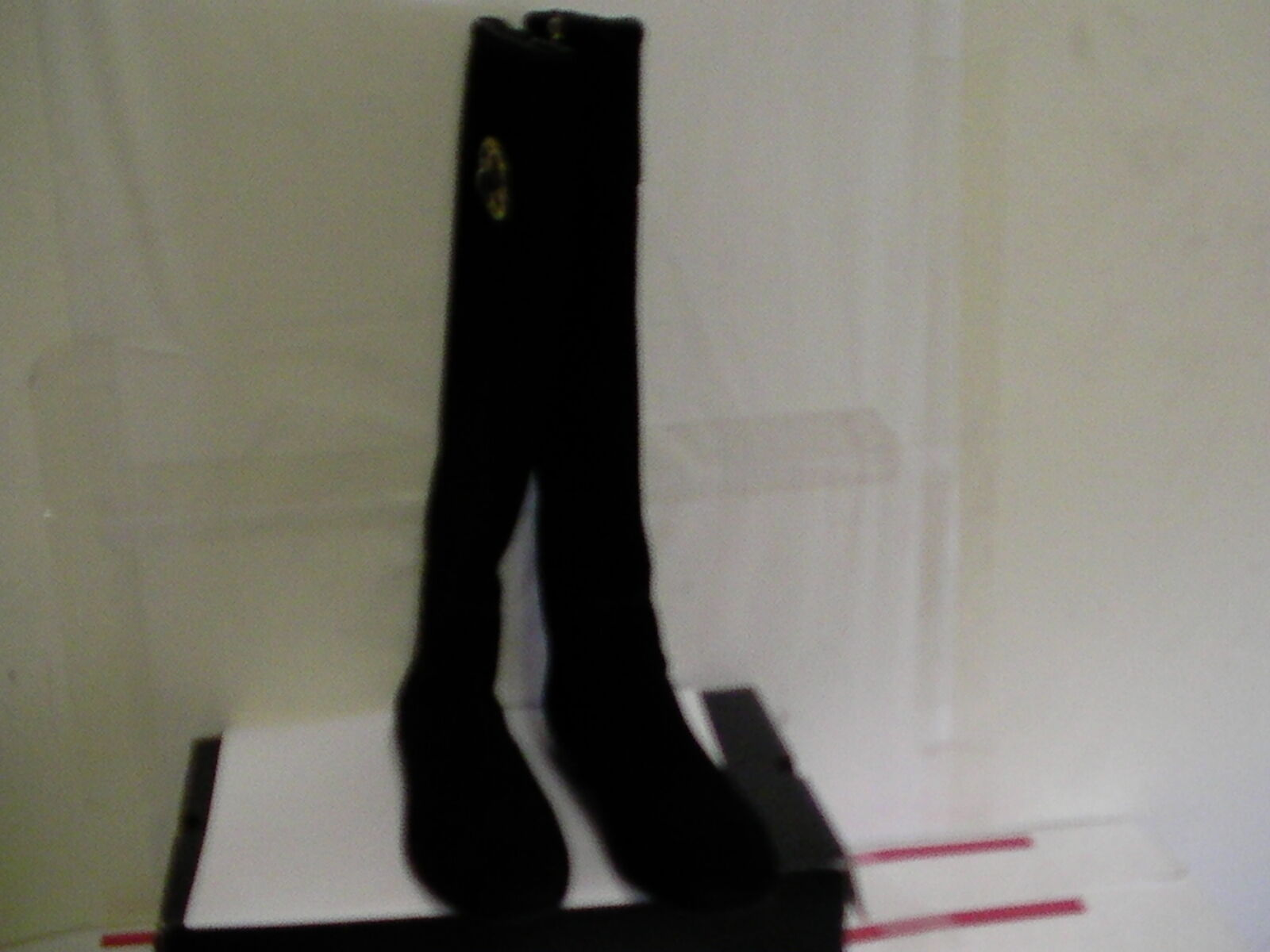 TORY BURCH IRENE EQUESTRIAN CALF RIDING BOOTS SOFTY SUEDE size 5 women
