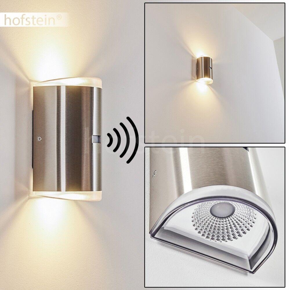 LED entrada parojo de lámpara porche patio terraza detectores de movimiento iluminación exterior