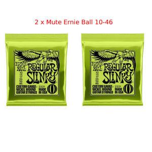 2-x-Ernie-Ball-2221-Regular-Slinky-Chitarra-Elettrica-SPEDIZIONE-TRACCIABILE