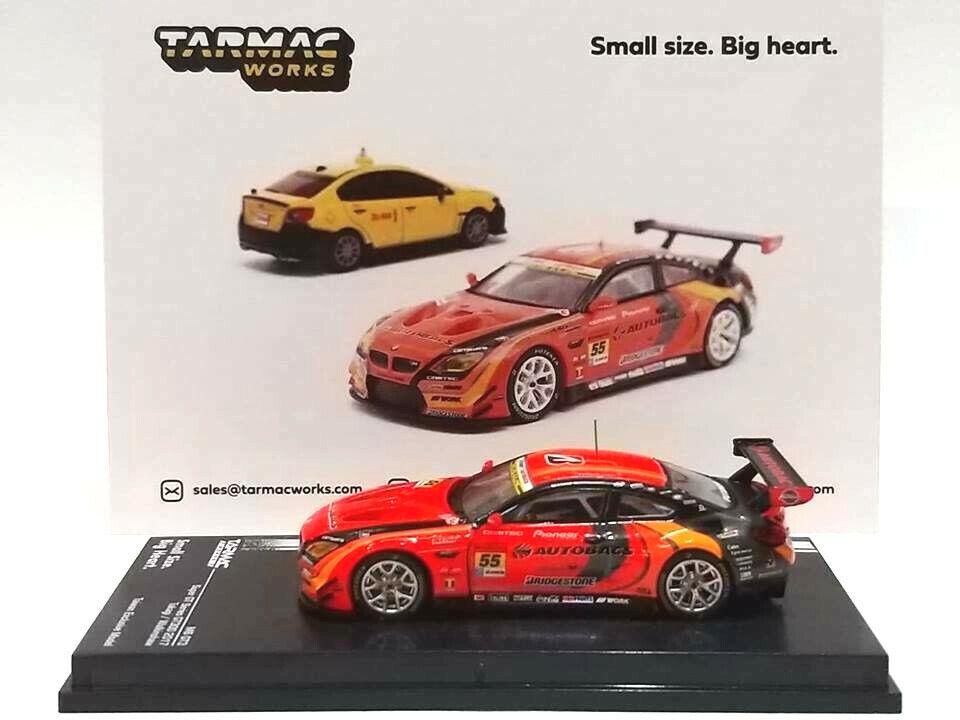 Tarmac Works BMW M6 GT3 Super GT GT300 AUTOBACS Taiwan Exclusive Mode 1 64