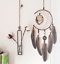 Dream-Catcher-With-Feathers-Wooden-Owl-Wall-Hanging-Decor-Ornament-Handmade thumbnail 3