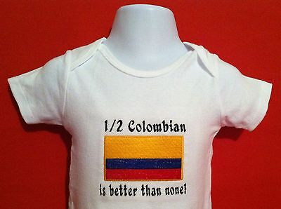 Bodysuit Embroidered Argentina Flag Personalized Add Name or Phrase