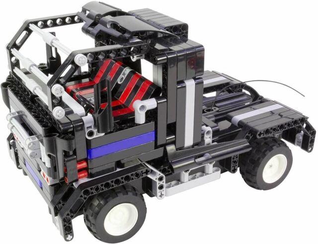 Tekno Toys 2 IN 1 Activo Ladrillos RC Camión Y Sillas de Paseo Negro Niños Toy