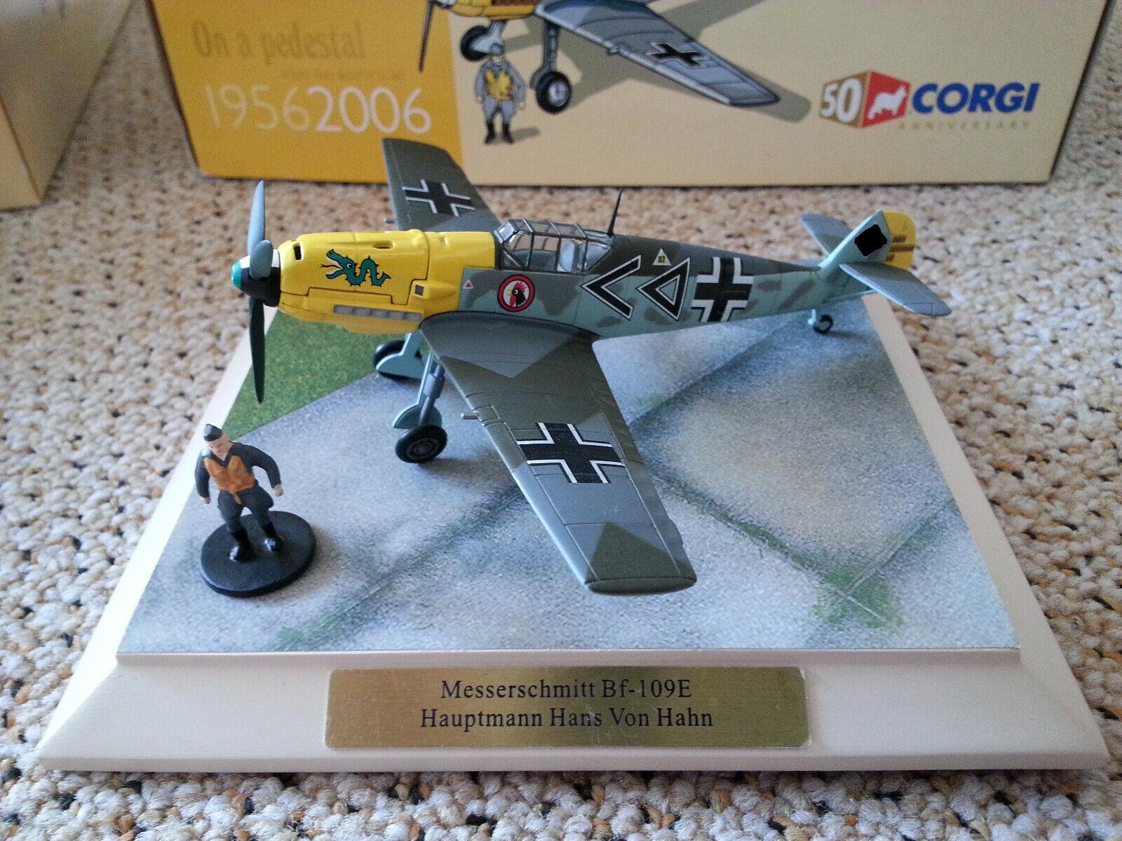 Corgi 1 72 Bf - 109 Hans v. Hahn Limited Edition    Angemessener Preis