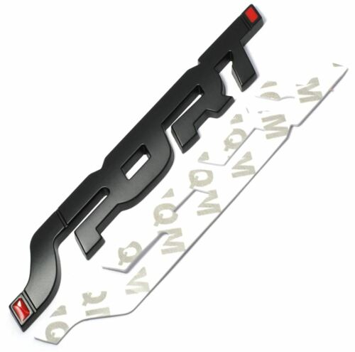 Calidad 3D Metal Racing Sport Logotipo Coche Insignia Emblema De Estilo-Negro Reino Unido Stock