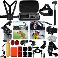 Accessories Pack Case Chest Head Monopod For Gopro Go Pro Hd Hero 4 3+ 3 2 H2
