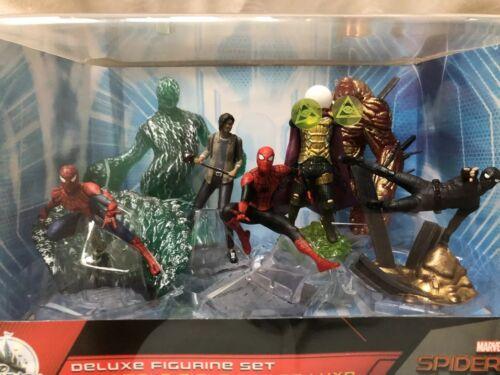 Disney Spider-man Far From Home Film Deluxe  Seven Figurine Set