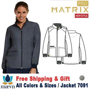 Maevn-Peelings-Matrix-pro-Mujer-Manga-Larga-Cuello-Redondo-Calentamiento-Jacket