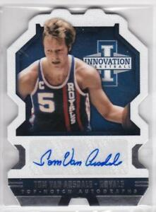 2013-14-Panini-Innovation-Top-Notch-Autographs-325-Tom-Van-Arsdale-Auto-Card