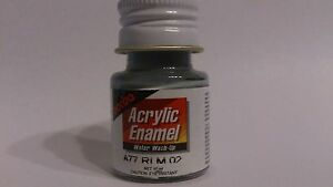 Pactra-Paint-A77-Grey-SG-Acrylic-Enamel-Water-WashUp-10ml-Bottle-PL