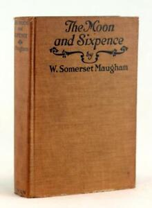 W Somerset Maugham 1st Edition 1919 The Moon and Sixpence Hardcover