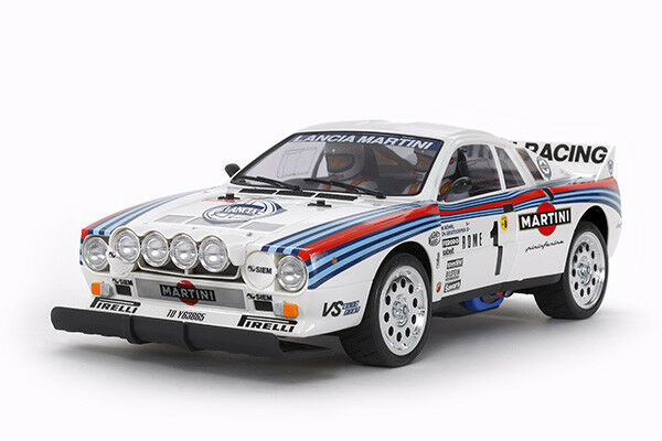 Tamiya 58654 Lancia 037 Rally TA-02S RC Car Kit WITH Tamiya ESC Unit