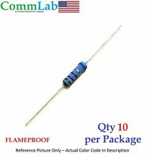 10k Ohm 2 Watt 2w 1 Tolerance Metal Film Resistor 10 Pieces