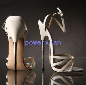 New sexy womens 7inches high heels wedges sandals stilettos with image is loading new sexy womens 7 034 inches high heels thecheapjerseys Choice Image