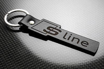 Audi S4 Leather Keyring Keychain Schlüsselring Porte-clés V8 QUATTRO AVANT FSI