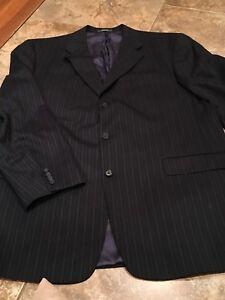 Austin Reed Dillards Mens Suit Coat Blazer 37r Pinstripe Ebay