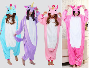 Pigiama kigurumi intero tuta carnevale feste donna animali zoo costume party