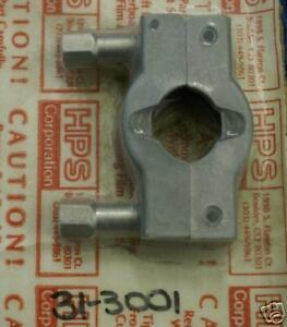 Details about HPS Twin Bolt Clamp, SS ISO NW 16 31-3001