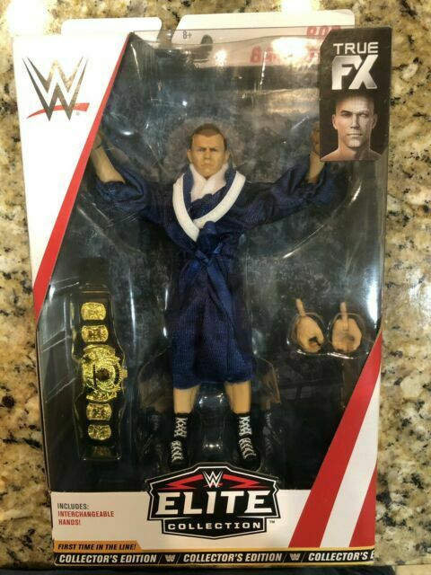 WWE BOB BACKLUND collectors ACCESSORIES MATTEL ELITE SERIES 63 WRESTLING FIGURE