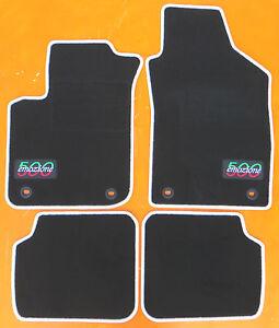 passend für Fiat 500 Autofußmatten Autoteppiche Fußmatten Baujahr 2007-2013 Lwov