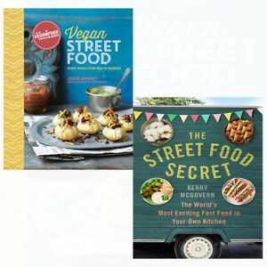 Vegan-Street-Food-Recipes-Collection-Foodie-travels-from-India-2-Books-Set-NEW