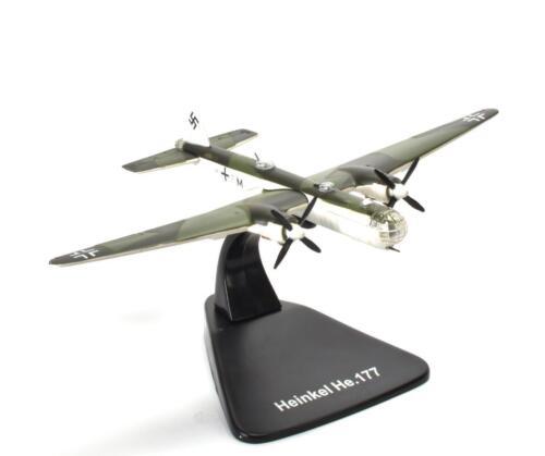Heinkel He 177 Greif Luftwaff 1:144 Atlas WW2 Flugzeug MODEL AIRCRAFT PLANE B110