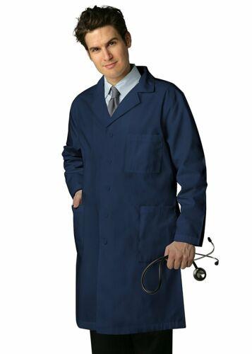 "Adar Universal 39/"" Scrub Lab Coat with Inner Pockets"
