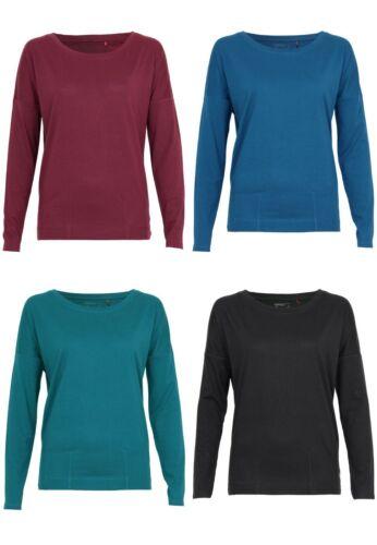 QS by s.Oliver Damen T-Shirt LangarmshirtRundhals Langarm Outfit Freizeit