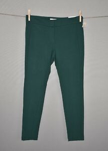 ANN-TAYLOR-LOFT-NEW-79-Marisa-Modern-Ponte-Skinny-Ankle-Pant-in-Green-Size-6P
