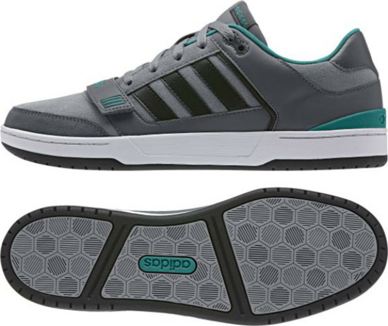 reputable site 30d54 a8289 Adidas Curb st Grey aq1504 aq1504 aq1504 Neo Basket chaussures de sport  3d4cf8