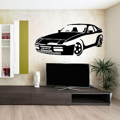 Porsche 944 Car Vinyl Wall Art Room Sticker Decal Vehicle
