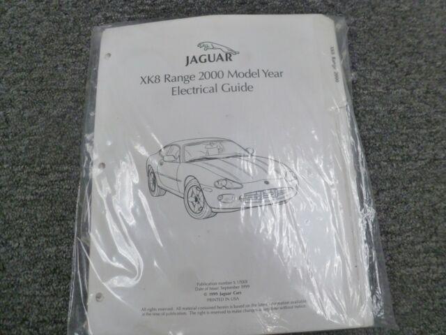 2000 Jaguar Xk8 Coupe Convertible Electrical Wiring