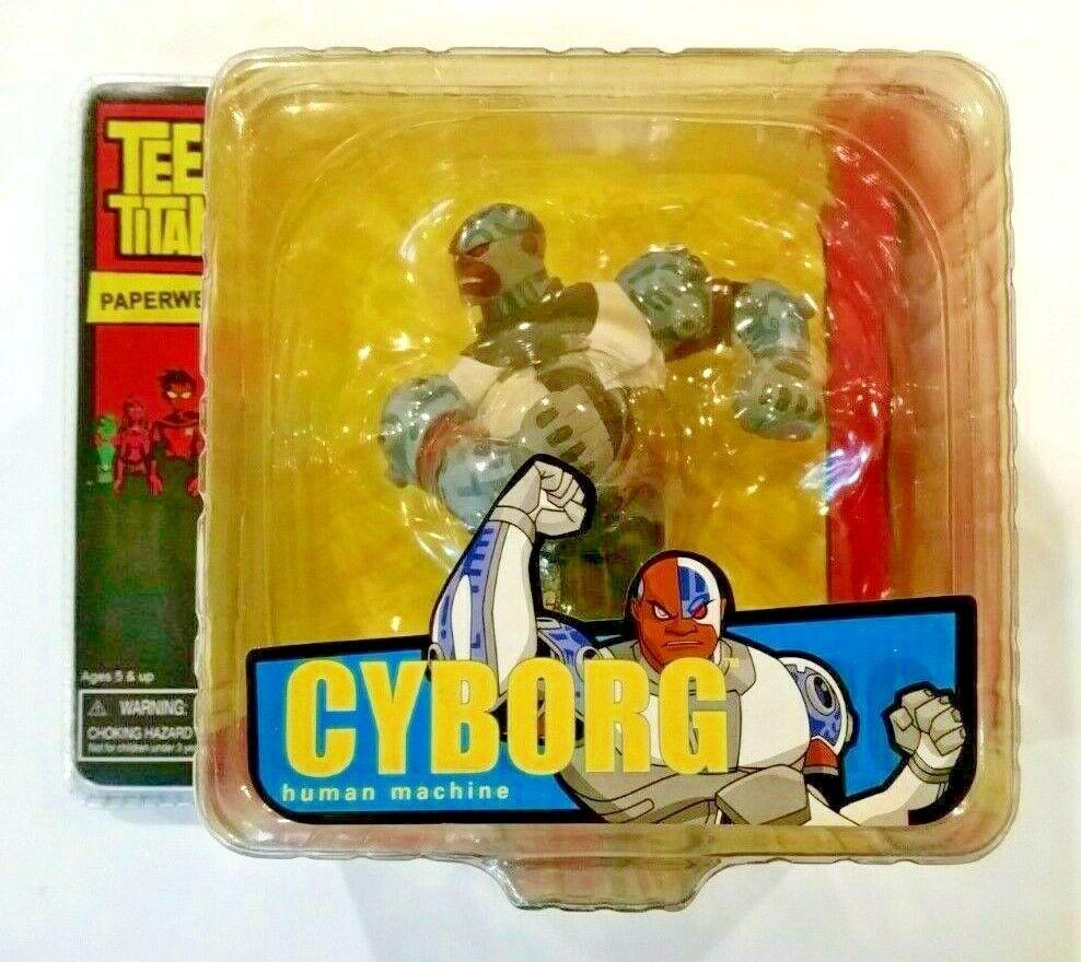 Teen Titan Cyborg Pisapapeles Dc