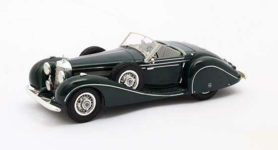 Matrix MAX41302-161  - Mercedes  540 K SP roadster Sindefingen - 1939   1 43  centre commercial de la mode