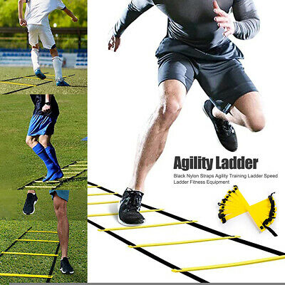 6M Speed Agility Training Soccer Ladder Fitness Footwork