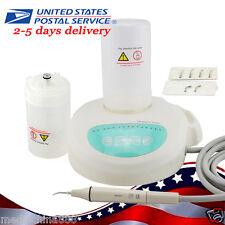 Dental Ultrasonic Scaler Piezo w 6 scaling tips+2 Bottles Handpiece FIT EMS FDA
