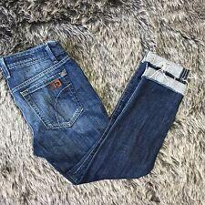 Joe's Best Friend Dark Wash Capri Jeans, Size 26, Cropped Denim Cutoff