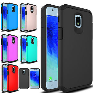 For-Samsung-Galaxy-J3-Orbit-Express-Prime-3-Shockproof-Hybrid-Armor-Case-Cover