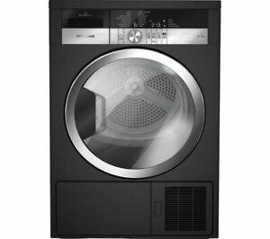 GRUNDIG GTN38250MGCB 8 kg Heat Pump Tumble Dryer - Black - Currys