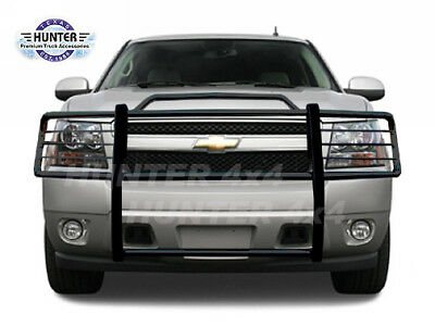 2000 2001 2002 2003 2004 2005 2006 Chevy Suburban 1500 Black Modular Grille Guard Brush Nudge Push Bar