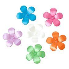 10x Perlenkappen Perlkappen Endkappen filigran Blumen für 14mm Perlen Farben Mix