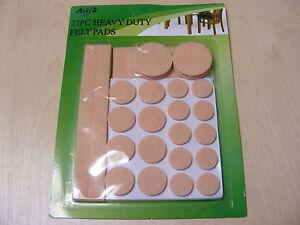 Pièce 27 Lot De Tailles Mixtes Résistant Protectrice Blocs Feutre Pour Meubles Bfxxm9qf-08010035-789194267