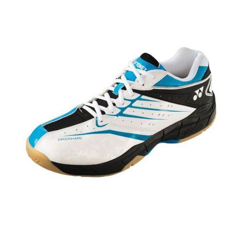 Yonex  Mens Power Cushion Comfort Advance Badminton Shoes SHBCFAX White Blue