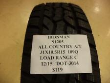IRONMAN ALL COUNTRY A/T 31 10.5 15 109Q LRC BRAND NEW TIRE 91205